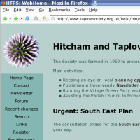 The HTPS website